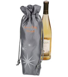 View a larger, more detailed picture of the Frost Star Wine Gift Bag