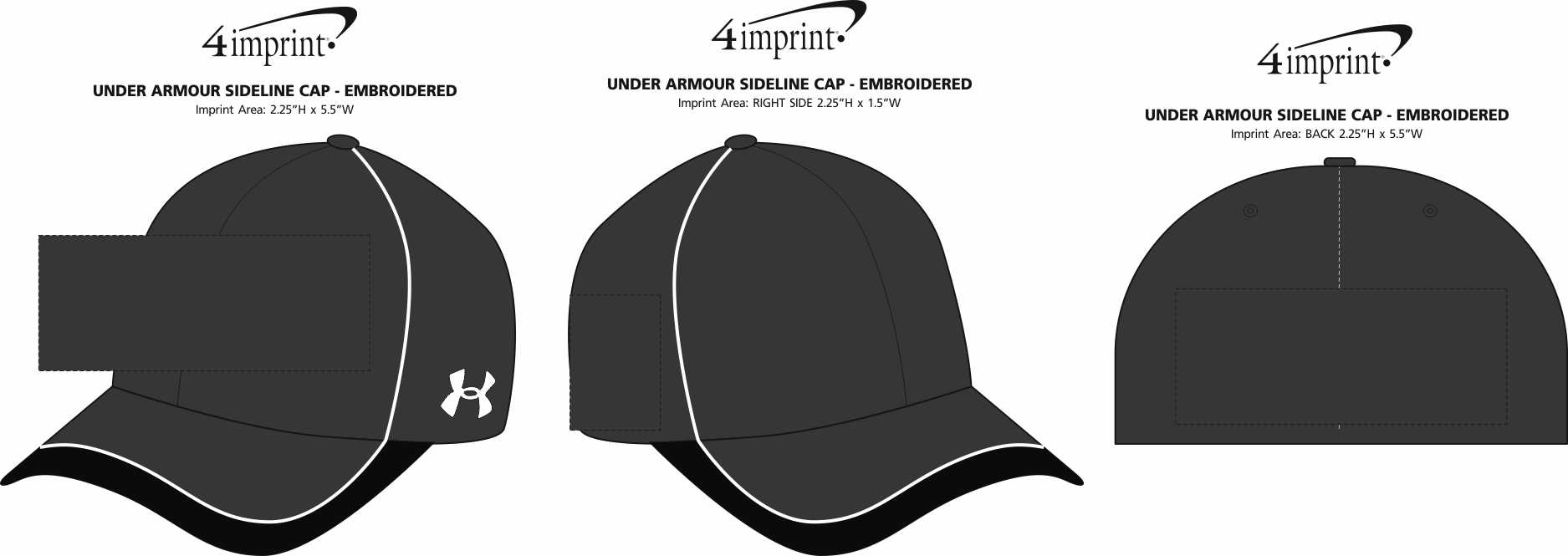 8a9f1325acf 4imprint.ca  Under Armour Sideline Cap - Embroidered C134980-E