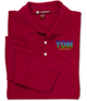 Harriton 9.34 oz. Easy Blend Polo - Long Sleeve