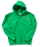 Gildan 50/50 Full Zip Hooded Sweatshirt - Emb - Colours