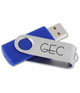 Swinging USB Drive - 2GB - 24 hr